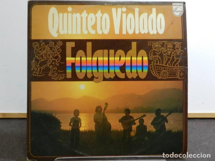 DISCO VINILO LP. QUINTETO VIOLADO - FOLGUEDO. EDICIÓN BRASIL. 33 RPM. (Música - Discos - LP Vinilo - Grupos y Solistas de latinoamérica)