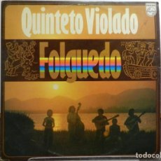 Discos de vinilo: DISCO VINILO LP. QUINTETO VIOLADO - FOLGUEDO. EDICIÓN BRASIL. 33 RPM.. Lote 223559571