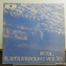 Discos de vinilo: DISCO VINILO LP. EVANDRO E SEU REGIONAL - BRASIL, FLAUTA, BANDOLIM E VIOLÃO. EDICIÓN BRASIL. 33 RPM.. Lote 223560330