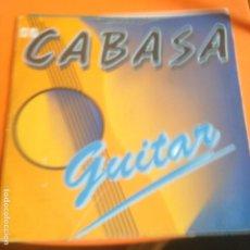 Discos de vinilo: CABASA - GUITAR - MAXI - SOLO PORTADA. Lote 223563412
