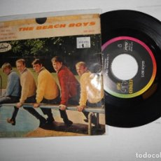 Discos de vinilo: THE BEACH BOYS – CALIFORNIA GIRLS SINGLE RARO 1966 MEXICO VG+/VG. Lote 223570495