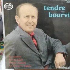 Disques de vinyle: TENDRE BOURVIL - LA TENDRESSE, VIVE LA MARIÉE, BALLADE IRLANDAISE, ... - LP. DEL SELLO MFP 1973. Lote 223572032