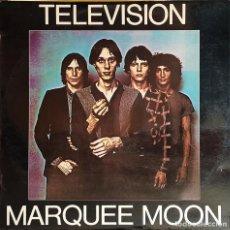 Discos de vinilo: TELEVISION - MARQUEE MOON - DISCO VINILO LP 33RPM - 1977 - ROCK, NEW WAVE, PUNK. Lote 223578898