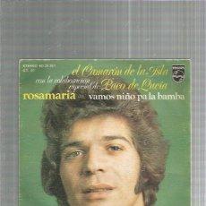 Discos de vinilo: CAMARON DE LA ISLA ROSAMARIA. Lote 223583800