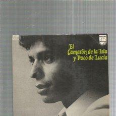 Discos de vinilo: CAMARON DE LA ISLA PACO DE LUCIA GITANA MORENA. Lote 223584053