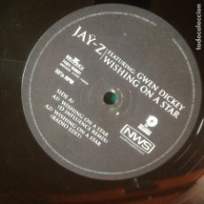 Discos de vinilo: JAY Z FEATURING GWEN DICKEY - WISHING ON A STAR - MAXI. Lote 223600232