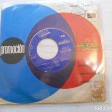 Discos de vinilo: BABY AL & THE CAPPS – GRAB YOUR PARTNER / LAUGH NOW BOY PROMO RARO ESPAÑOL 1969 VG+. Lote 223611996