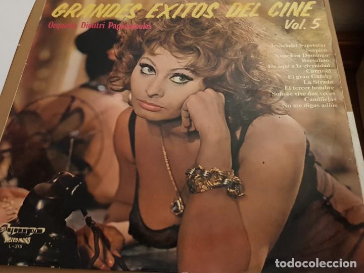 ORQ. DIMITRI PAPADOPOULOS – GRANDES EXITOS DEL CINE VOL. 5 - LP SPAIN 1975 - OLYMPO - SOPHIA LOREN (Música - Discos - LP Vinilo - Bandas Sonoras y Música de Actores )