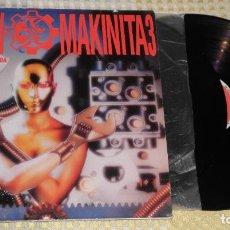 Discos de vinilo: TECHNO MAKINITA 3 2LP RECOPILATORIO PORT VG + DISCO VG ++. Lote 223635191