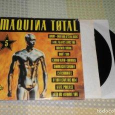 Discos de vinilo: MAQUINA TOTAL 5. DOBLE LP.. Lote 223637355