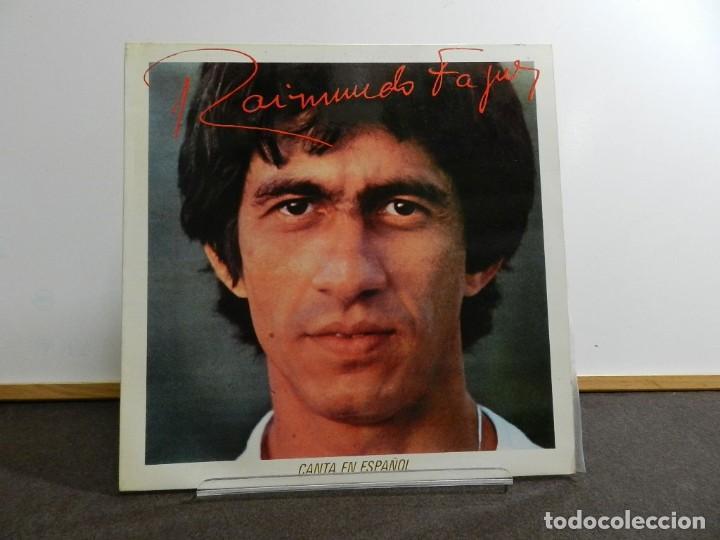DISCO VINILO LP. RAIMUNDO FAGNER - CANTA EN ESPAÑOL. EDICIÓN ESPAÑA. 33 RPM. (Música - Discos - LP Vinilo - Grupos y Solistas de latinoamérica)