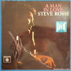 Dischi in vinile: EP / STEVE ROSSI / A MAN IN LOVE - ILL SET MY LOVE TO MUSIC - WHERES THE GIRL - MORE / HIT CGE 622. Lote 223649220