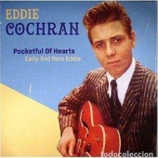 Discos de vinilo: EDDIE COCHRAN * LP VINILO * POCKETFUL OF HEARTS EARLY AND RARE * 500 COPIAS!!! PRECINTADO!!. Lote 223653760