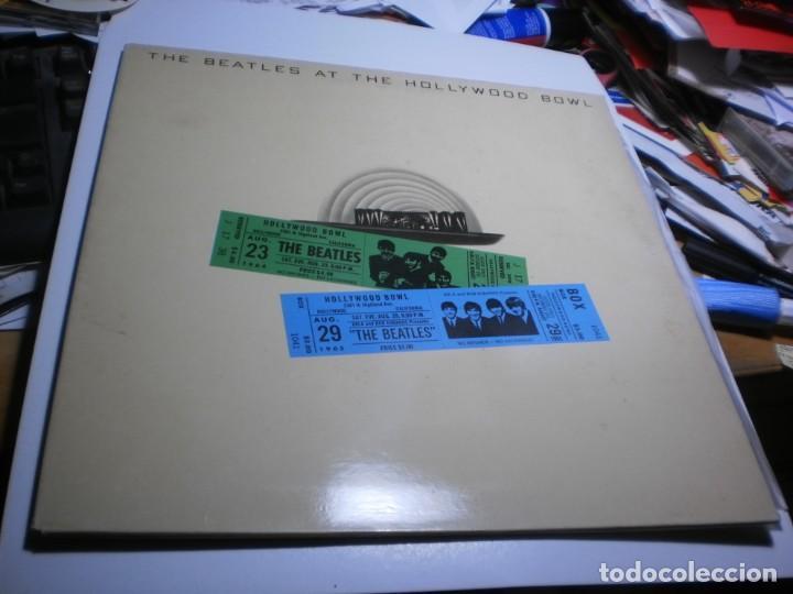 LP THE BEATLES. AT THE HOLLYWOOD BOWL. EMI 1977 SPAIN CARPETA DOBLE (PROBADO, BIEN, BUEN ESTADO) (Música - Discos - LP Vinilo - Pop - Rock - Internacional de los 70)