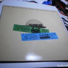 Discos de vinilo: LP THE BEATLES. AT THE HOLLYWOOD BOWL. EMI 1977 SPAIN CARPETA DOBLE (PROBADO, BIEN, BUEN ESTADO). Lote 223656807