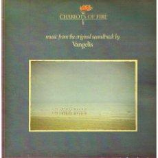 Disques de vinyle: VANGELIS - CHARIOTS OF FIRE - LP 1981. Lote 223670376