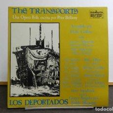 Discos de vinilo: DISCO VINILO LP. THE TRANSPORTS - LOS DEPORTADOS. EDICIÓN ESPAÑOLA. 33 RPM. DOBLE.. Lote 223674211