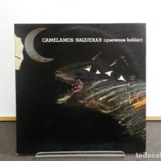 Disques de vinyle: DISCO VINILO LP. MARIO MAYA - CAMELAMOS NAQUERAR. EDICIÓN ESPAÑOLA. 33 RPM.. Lote 223679865