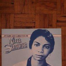 Discos de vinilo: NINA SIMONE – MY BABY JUST CARES FOR ME SELLO: CARRERE – 66.496, CARRERE – 66496 FORMATO: VINYL. Lote 223683533