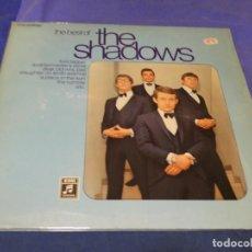 Discos de vinilo: BOXX 90 DOBLE LP ALEMAN CA 75 BEST OF THE SHADOWS MUY BUEN ESTADO GENERAL. Lote 223688760