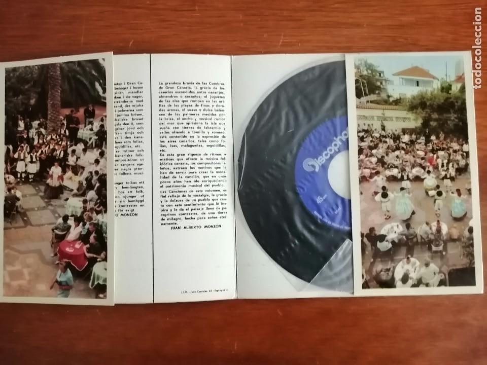Discos de vinilo: Islas Canarias agrupación folklorica pueblo canario álbum 5 - Foto 2 - 223689126
