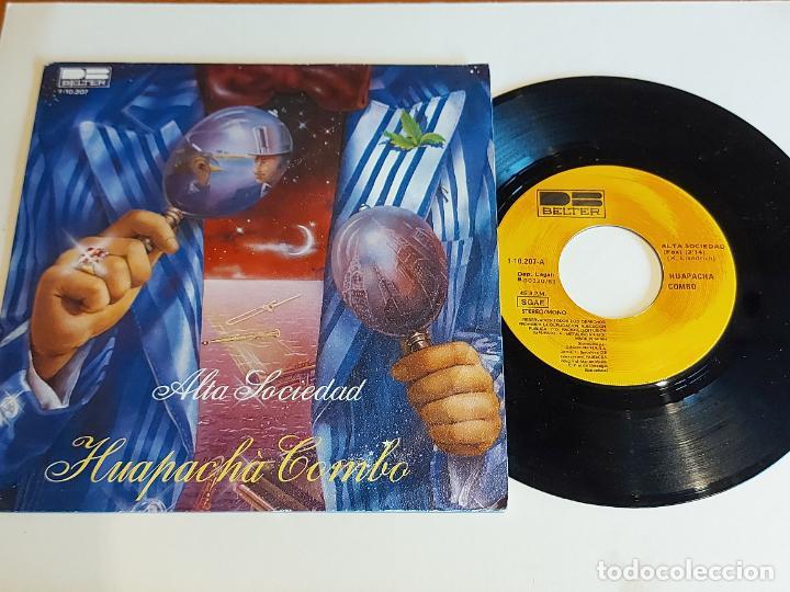 HUAPACHÀ COMBO / ALTA SOCIEDAD / SINGLE - BELTER-1981 / CALIDAD LUJO. ****/**** (Música - Discos - Singles Vinilo - Orquestas)