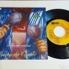 Discos de vinilo: HUAPACHÀ COMBO / ALTA SOCIEDAD / SINGLE - BELTER-1981 / CALIDAD LUJO. ****/****. Lote 223690345