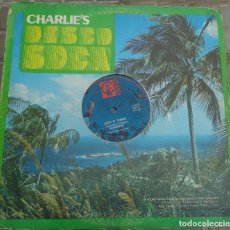 "Discos de vinilo: MAXI - SCRUNTER - LICK E THING / THE WILL"" (SOCA) 1982 CHARLIE'S RECORDS USA. Lote 223713960"
