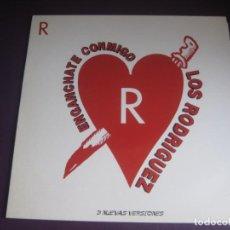 Discos de vinilo: LOS RODRIGUEZ MAXI SINGLE PASION 1991 - ENGANCHATE CONMIGO (3 VERSIONES) - TEQUILA CALAMARO. Lote 223715590