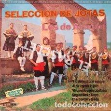 Discos de vinilo: LP - SELECCION DE JOTAS - LOS DE ARAGON --. Lote 223715786