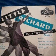 Discos de vinilo: SINGLE LITTLE RICHARD AND HIS BAND. VOL 3. Lote 223727278