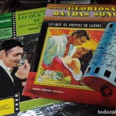Disques de vinyle: LO QUE EL VIENTO SE LLEVO 2 LPS ORIGINAL MAX STEINER Y CHARLES GEHAROT SPA. Lote 223727838