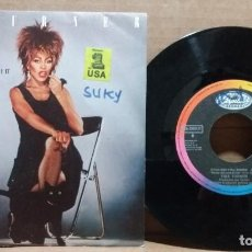 Disques de vinyle: TINA TURNER / WHAT'S LOVE GOT TO DO WITH IT / SINGLE 7 INCH. Lote 223728538