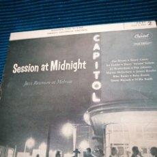 Discos de vinilo: SINGLE SESSION AT MIDNIGHT CAPITOL JAZZ. Lote 223729856
