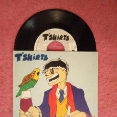 Discos de vinilo: EP T'SHIRTS - BITCH / LONELY / RIGHT - INDI-041 - SPAIN PRESS (NM/NM). Lote 223730301