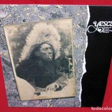 Discos de vinilo: YESCA. FIESTAS DE GALLOS Y OTROS CANTOS POPULARES. BURGOS. LP. AÑO:1988. NUEVO SIN USO.. Lote 223736745