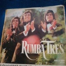 Discos de vinilo: SINGLE RUMBA TRES. Lote 223747086