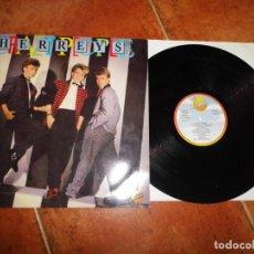 Discos de vinilo: HERREYS CRAZY PEOPLE LP VINILO DEL AÑO 1985 ESPAÑA EUROVISION SUECIA 1984 DIGGI LOO, DIGGI LEY. Lote 223748531