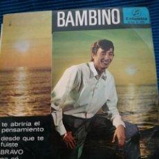 Discos de vinilo: SINGLE BAMBINO. Lote 223749091