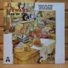 Discos de vinilo: LP ALBUM , AL STEWART , YEAR OF THE CAT , SPAIN ED , COMO NUEVO.. Lote 223756015