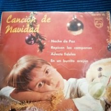 Discos de vinilo: CANCIÓN DE NAVIDAD, CORO DE LAS ESCUELAS AVEMARIANAS. Lote 223760430