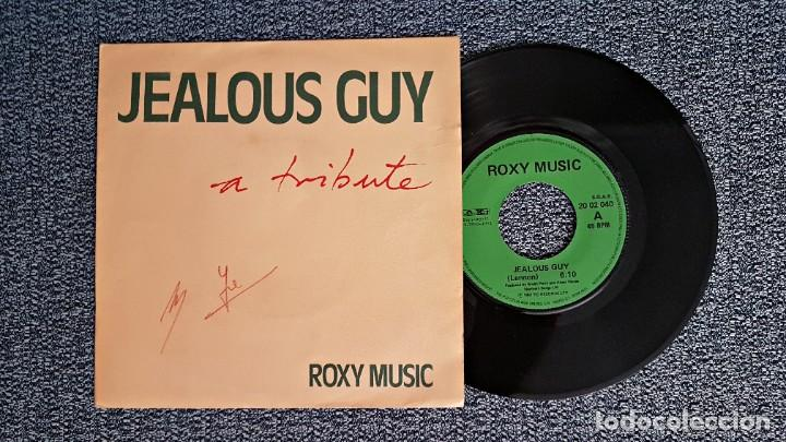 ROXY MUSIC - JEALOUS GUY / TO TURN YOU ON. EDITADO POR POLYDOR. AÑO 1.981 (Música - Discos de Vinilo - Singles - Pop - Rock Internacional de los 80)