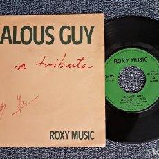 Discos de vinilo: ROXY MUSIC - JEALOUS GUY / TO TURN YOU ON. EDITADO POR POLYDOR. AÑO 1.981. Lote 223760895