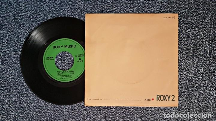 Discos de vinilo: Roxy Music - Jealous guy / To turn you on. editado por Polydor. año 1.981 - Foto 2 - 223760895