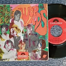 Discos de vinilo: THE BEE GEES - WORDS / SINKING SHIPS. EDITADO POR POLYDOR. AÑO 1.968. Lote 223763081