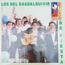 Discos de vinilo: LOS DEL GUADALQUIVIR - DE FIESTA. Lote 223788051