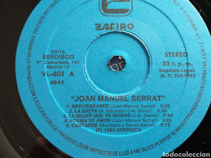 Discos de vinilo: Serrat LP - Foto 3 - 223797773