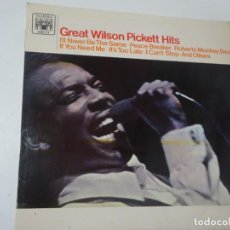 Discos de vinilo: LP, WILSON PICKETT – GREAT WILSON PICKETT HITS ,MARBLE ARCH 1967, VER FOTOS. Lote 223804000