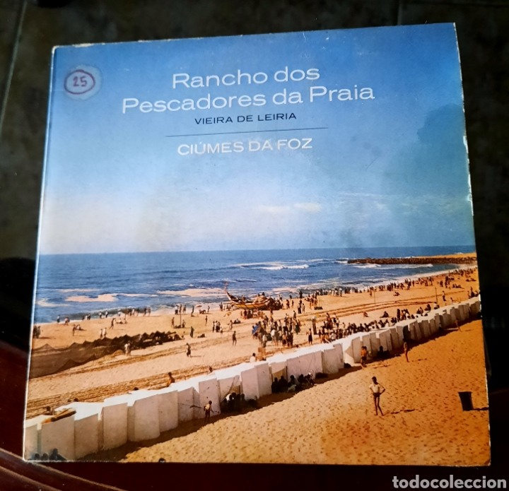 RANCHO DOS PESCADORES DA PRAIA. VIEIRA DE LEIRIA - CIÚMES DA FOZ + 3 (Música - Discos de Vinilo - EPs - Country y Folk)