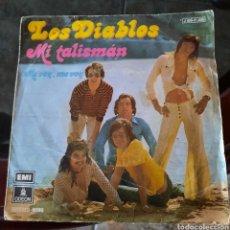 Discos de vinilo: LOS DIABLOS - MI TALISMAN. Lote 223809408